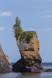 Lake Superior Rock Formation Stock Images