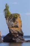 Lake Superior Rock Formation Royalty Free Stock Photos