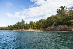 Lake Superior Scenic Stock Image