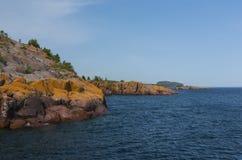Lake Superior Scenic Stock Photo
