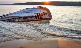 Lake Superior Shipwreck Stock Images