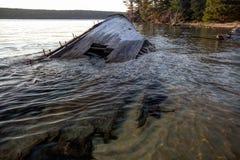 Lake Superior Shipwreck Stock Photo