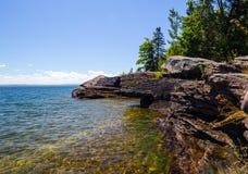 Lake Superior Shore Stock Photo