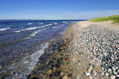 Lake Superior Shoreline Royalty Free Stock Photography