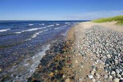 Lake Superior Shoreline Royalty Free Stock Photography