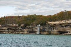 Lake Superior Spray Falls Royalty Free Stock Image