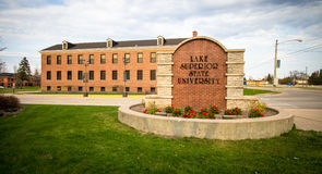 Lake Superior State University Royalty Free Stock Photos