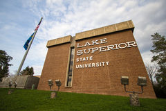Lake Superior State University Stock Image
