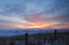 Lake Superior Sunrise Stock Images