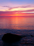 Lake Superior Sunset Stock Photos