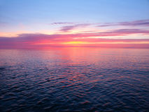 Lake Superior Sunset Royalty Free Stock Photo