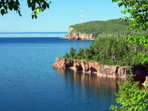 lake Superior, Tettegouche state park Royalty Free Stock Images