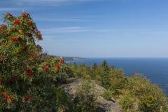 Lake Superior View Stock Photo