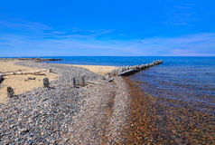 Lake Superior At Whitefish Point Stock Photography