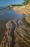 Lake- Superiorküstenlinie Lizenzfreies Stockfoto