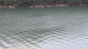 Lake surface stock footage