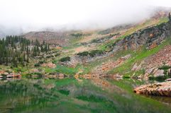 Lake Surrounded by Mountain Royalty Free Stock Image