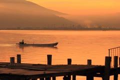 Lake Suwa Royalty Free Stock Images