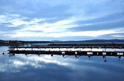 Lake in Sweden. City - Ludvika, Scandinavia Stock Photography