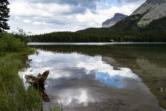 Lake Swiftcurrent in Glacier National Park Royalty Free Stock Photography