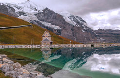 Lake in the swiss Alps Royalty Free Stock Photo