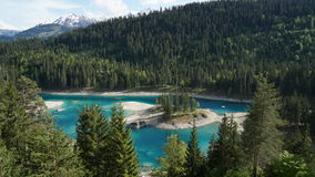 A lake in Switzerland royalty free stock images