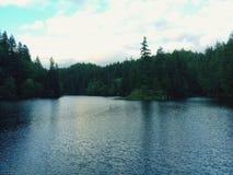 Lake Sylvia state park stock photography