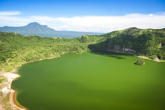 Lake taal volcano tagaytay philippines Stock Photography