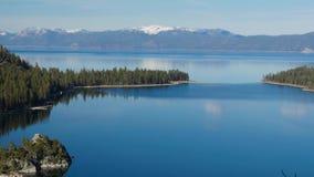 Lake Tahoe, Überblick stock video
