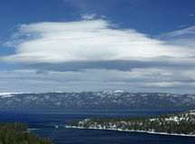 Lake Tahoe.  Royalty Free Stock Photography