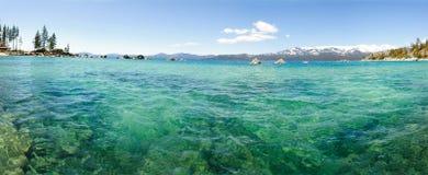 Lake Tahoe. Panoramic view of Lake Tahoe in Californis Royalty Free Stock Photography