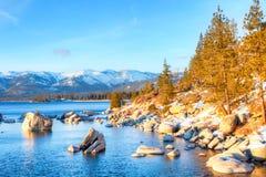 Lake Tahoe lizenzfreie stockfotos