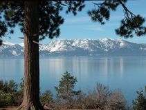 Lake Tahoe Foto de Stock Royalty Free