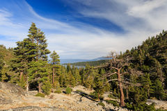 Lake Tahoe Photos libres de droits