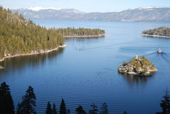 Lake Tahoe Photographie stock libre de droits