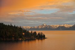 Lake Tahoe Royaltyfria Bilder