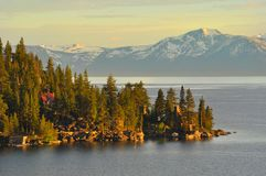 Lake Tahoe Royaltyfria Foton