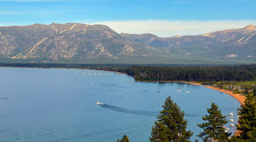 Lake Tahoe. Amazing view of lake Tahoe, CA Stock Photography