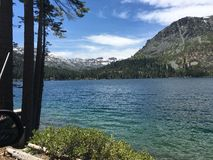 Lake Tahoe bästa hållen hemlighet Royaltyfri Fotografi
