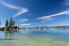 Lake Tahoe beach Royalty Free Stock Photo