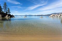 Lake Tahoe beach Stock Images