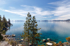 On Lake Tahoe Royalty Free Stock Photos