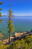 Lake Tahoe. A beautiful day on Lake Tahoe Stock Photos