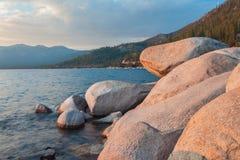 Lake Tahoe bonito Califórnia fotografia de stock