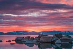 Lake Tahoe bonito Califórnia imagens de stock royalty free