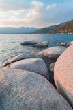 Lake Tahoe bonito Califórnia foto de stock