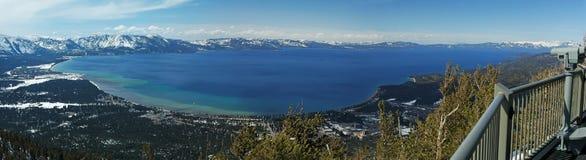 Lake Tahoe, California. A panoramic shot of Lake Tahoe in California Stock Image