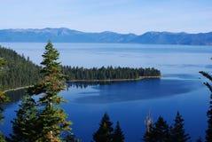 Lake Tahoe, California. Lake Tahoe with Emerald Bay in California Stock Images