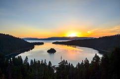 Lake Tahoe, California fotografia stock libera da diritti