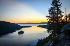 Lake Tahoe, California fotografie stock
